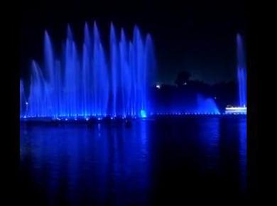 水幕年華-噴泉燈光秀