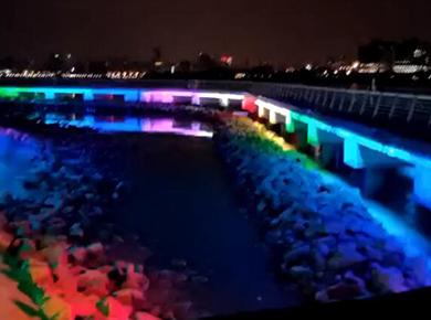 一河兩岸 DMX512洗墻燈
