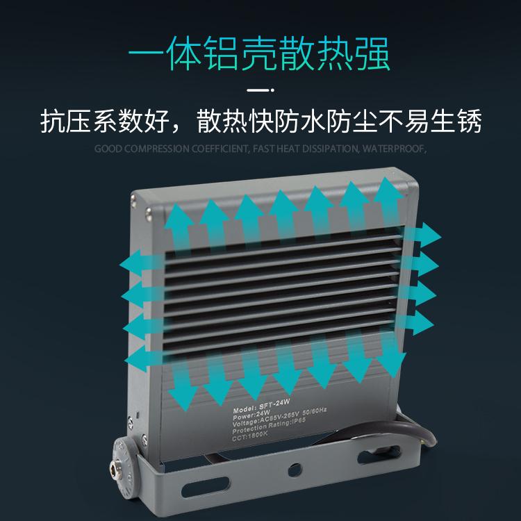 新款SFT型材方形投光燈