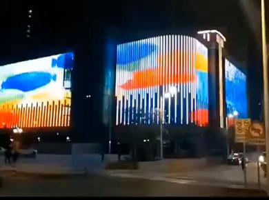 商场-超级锦锂-灯光秀