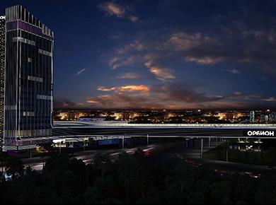 莫斯科商城DMX512线条灯