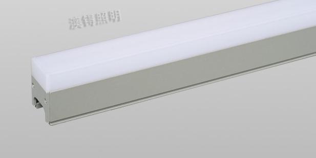 LED线条灯之间为什么会有暗区?