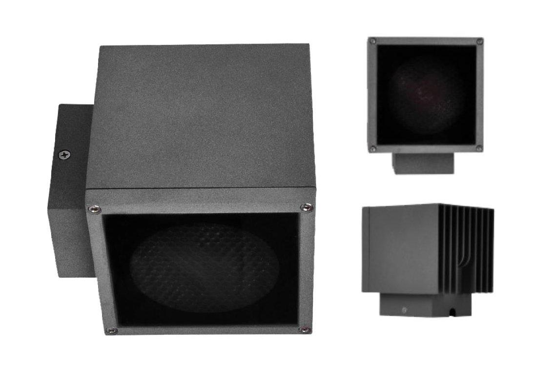 D1BD120C    D2BD120C    D1BD150C 魔方系列束光燈壁燈 2X90度 10W 20W