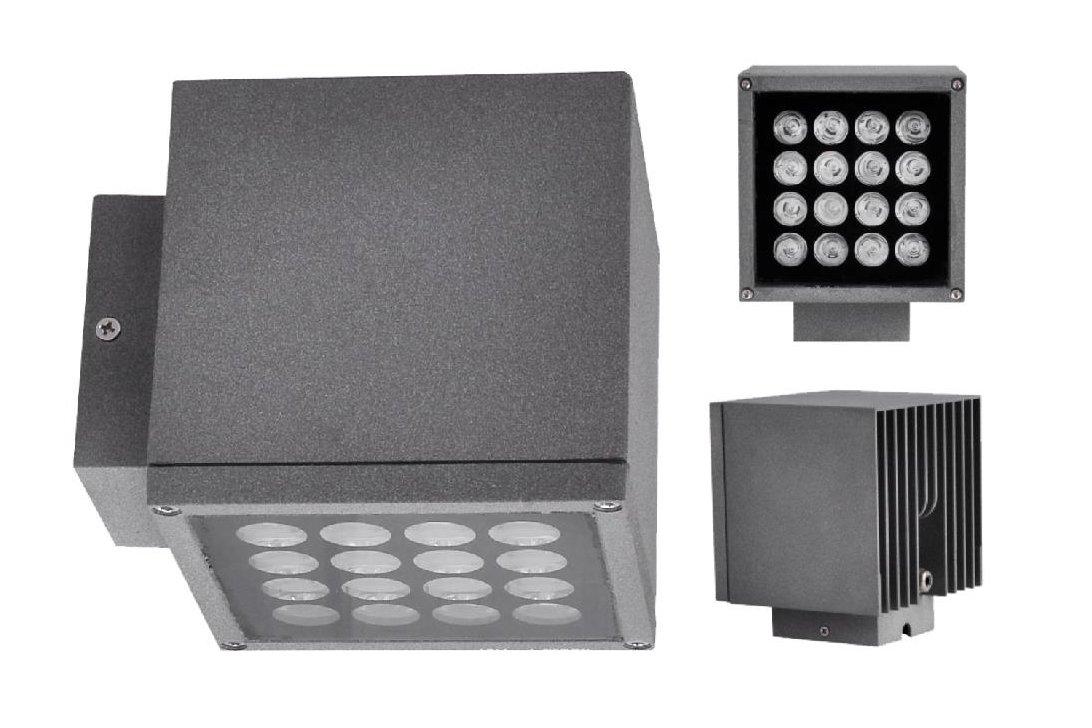 D1BD125H || D2BD125H || D2BD125C 魔方系列LED户外壁灯 25W 40W